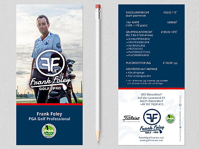 Imageflyer Golfpro Frank Foley